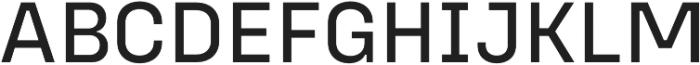 Config Alt Text otf (400) Font UPPERCASE