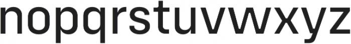 Config Alt Text otf (400) Font LOWERCASE