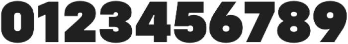 Config Black otf (900) Font OTHER CHARS