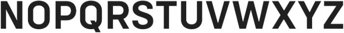 Config SemiBold otf (600) Font UPPERCASE