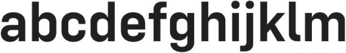 Config SemiBold otf (600) Font LOWERCASE