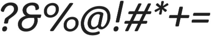 Congenial Italic otf (300) Font OTHER CHARS