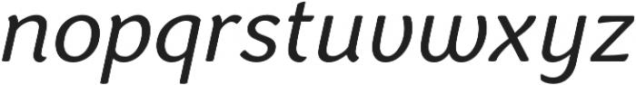 Congenial Italic otf (300) Font LOWERCASE