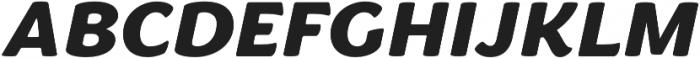 Congenial Italic otf (900) Font UPPERCASE