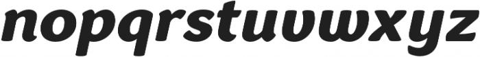 Congenial Italic otf (900) Font LOWERCASE