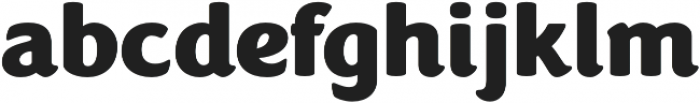 Congenial otf (900) Font LOWERCASE