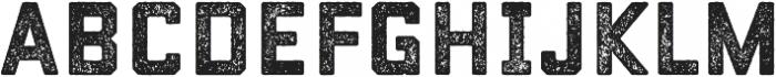 Conifer Rough otf (400) Font LOWERCASE