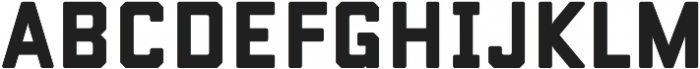Conifer Solid otf (400) Font LOWERCASE