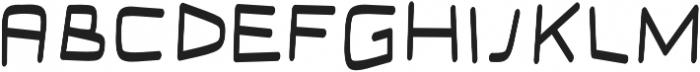 Connect regular otf (400) Font LOWERCASE