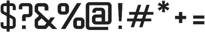 Conservation Sans otf (400) Font OTHER CHARS