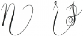 Constancia Script Alt4 Regular otf (400) Font UPPERCASE