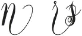Constancia Script Alt4 otf (700) Font UPPERCASE