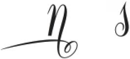 Constancia Script Alt5 otf (700) Font UPPERCASE