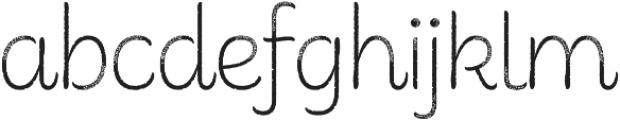 Consuelo Rough otf (400) Font LOWERCASE