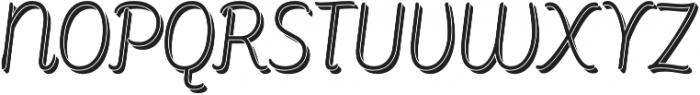 Consuelo Shadow Italic otf (400) Font UPPERCASE