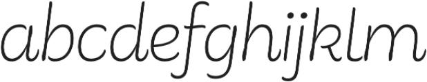 Consuelo otf (400) Font LOWERCASE