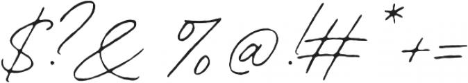 Contempora Script Rough One otf (400) Font OTHER CHARS