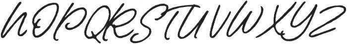 Contempora Script Rough Two otf (400) Font UPPERCASE