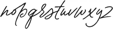 Contempora Script Rough Two otf (400) Font LOWERCASE
