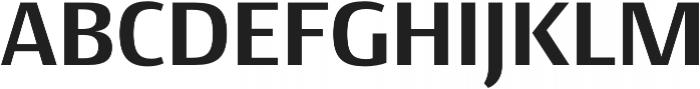 Conto Basic otf (700) Font UPPERCASE