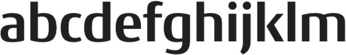 Conto Basic otf (700) Font LOWERCASE