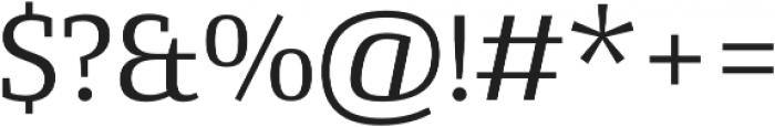 Conto Slab Basic otf (400) Font OTHER CHARS