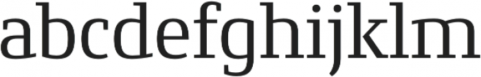 Conto Slab Basic otf (400) Font LOWERCASE