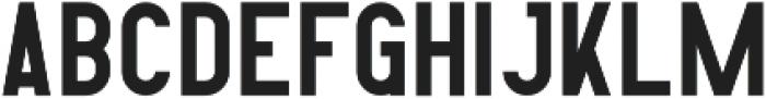 Contraband Regular otf (400) Font LOWERCASE