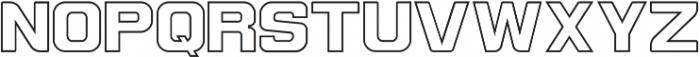Contrastes Regular ttf (400) Font UPPERCASE