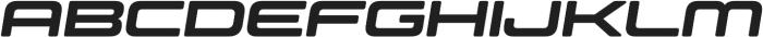 Controller Ext Five Oblique otf (400) Font UPPERCASE