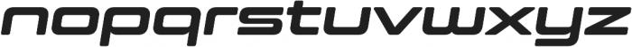 Controller Ext Five Oblique otf (400) Font LOWERCASE