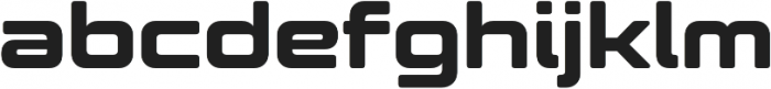 Controller Five otf (400) Font LOWERCASE