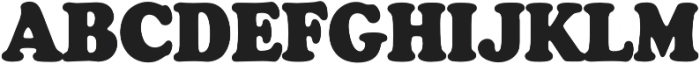 Cooper Black Condensed Regular otf (900) Font UPPERCASE