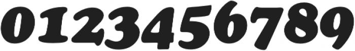 Cooper Black Italic Pro Regular otf (900) Font OTHER CHARS