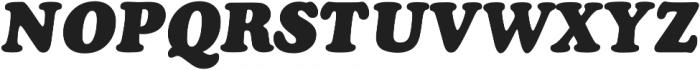 Cooper Black Italic Pro Regular otf (900) Font UPPERCASE
