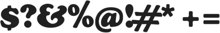 Cooper Black Swash Regular otf (900) Font OTHER CHARS