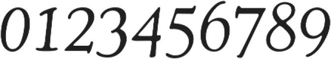 Cooper Italic otf (400) Font OTHER CHARS