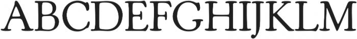 Cooper Old Style Medium otf (500) Font UPPERCASE