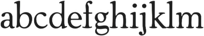 Cooper Old Style Medium otf (500) Font LOWERCASE