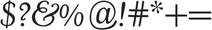 Cooper Swash Italic otf (400) Font OTHER CHARS