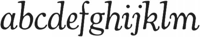 Cooper Swash Italic otf (400) Font LOWERCASE