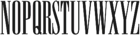 Coplex ttf (400) Font LOWERCASE