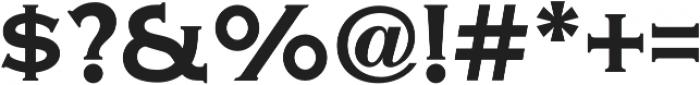 Copper Penny DTP Regular otf (400) Font OTHER CHARS