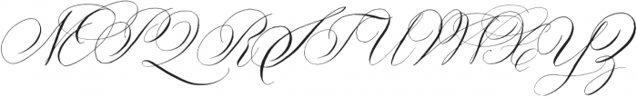 Copperlove otf (400) Font UPPERCASE
