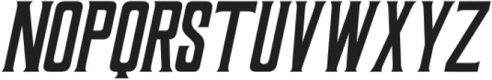 Coprost Italic otf (400) Font UPPERCASE