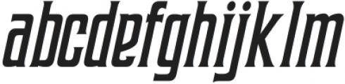 Coprost Italic otf (400) Font LOWERCASE