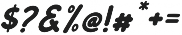 Coquin  Italic otf (400) Font OTHER CHARS