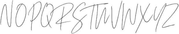 Coral Blush Script Alt ttf (400) Font UPPERCASE
