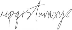 Coral Blush Script Alt ttf (400) Font LOWERCASE