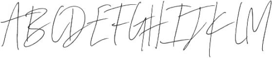 Coral Blush Script ttf (400) Font UPPERCASE